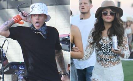Justin Bieber and Selena Gomez: Holding Hands at Coachella!