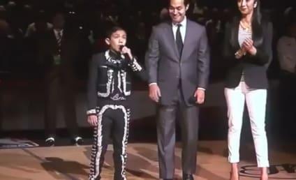 Sebastien De La Cruz Sings National Anthem Again, Sticks It to Haters