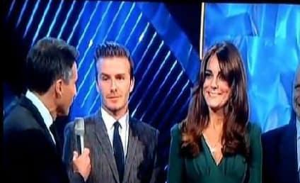 Pregnant Kate Middleton Glows at BBC Sports Ceremony