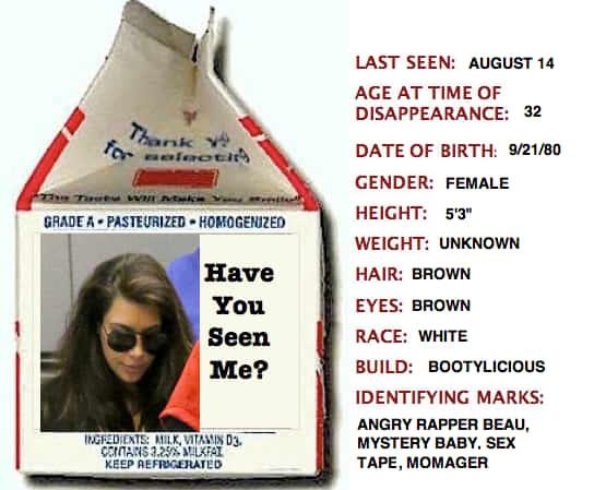 Kim Kardashian Missing