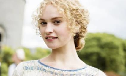 Lily James to Play Cinderella in Live-Action Adaptation