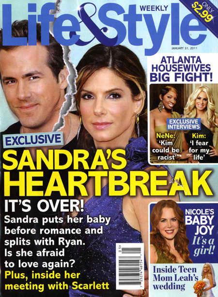 Sandra and Ryan SPLIT!
