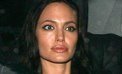 Angelina Jolie Avoids Papa Voight at Party