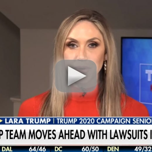 Lara trump were gonna win this election no matter what it takes