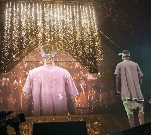 Justin Bieber is in Concert