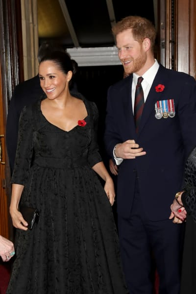 Meghan Markle and Prince Harry Get Fancy