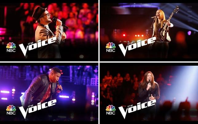 Josh kaufman it will rain the voice