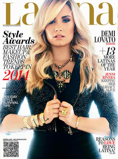 Demi Lovato Latina Cover