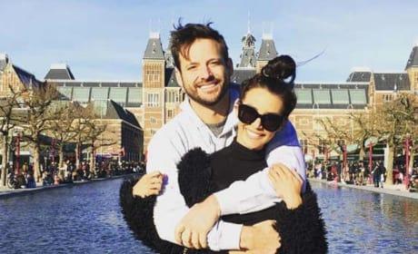 Scheana Shay and Robert Valletta in Amsterdam