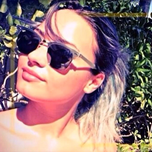 Demi Lovato with Silver Hair