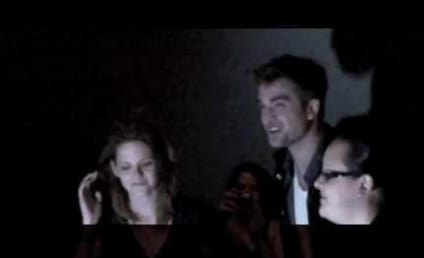 Robert Pattinson and Kristen Stewart Surprise Eclipse Fans, Do Dinner