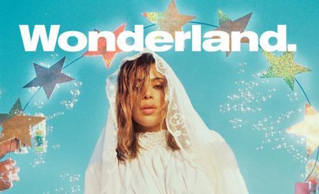 Kim Kardashian Wonderland Cover