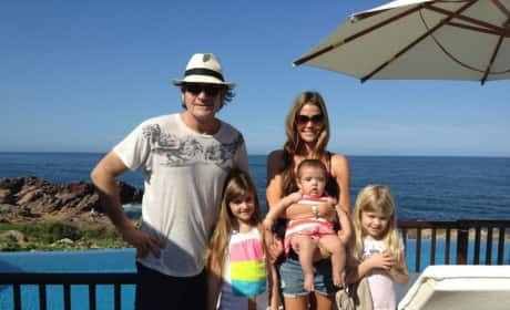 Charlie Sheen, Denise Richards and Kids
