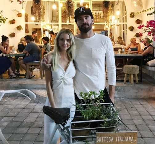 Brody Jenner and Kaitlynn Carter, Wedding Pic