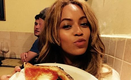 Beyonce and Pizza
