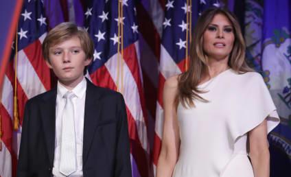 Melania Trump Threatens Lawsuit Over Barron Trump Autism Video