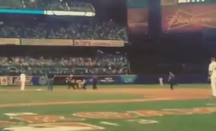 Fan Interrupts All-Star Game After Earning 1,000 Re-Tweets, Gets PUMMELED By Security