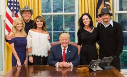 Kid Rock, Ted Nugent, Sarah Palin Hang With Trump, Mock Hillary