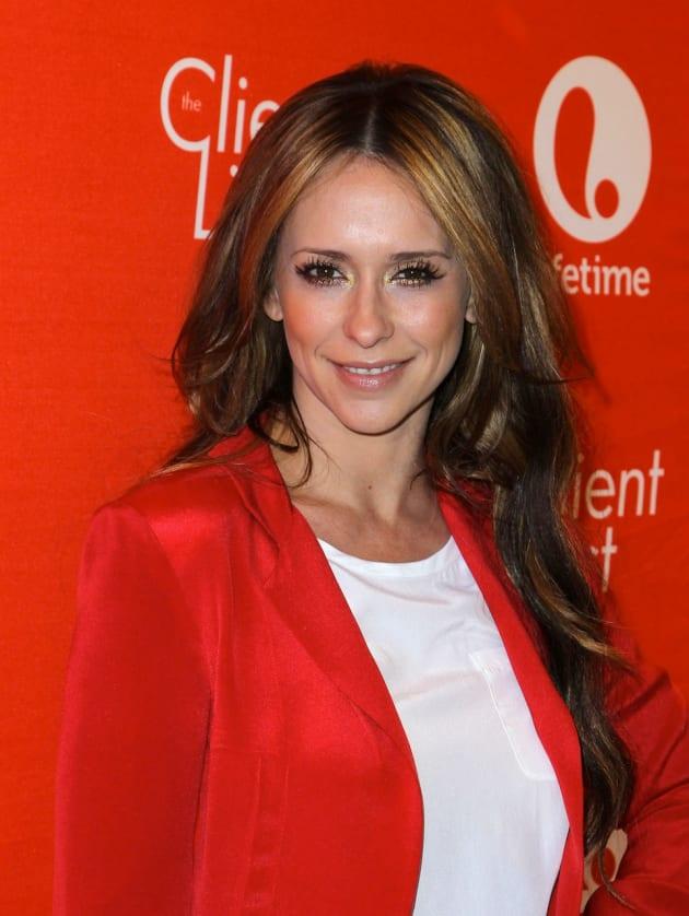 Jennifer Love Hewitt in Red