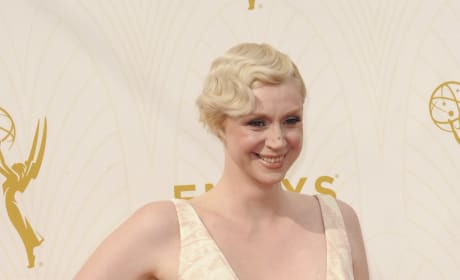 Gwendoline Christie at the Emmys