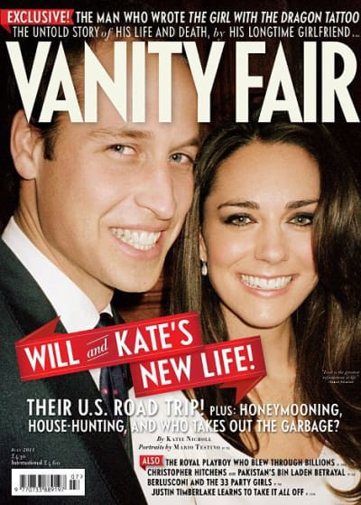 Royal Vanity Fair Cover