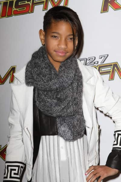 Willow Smith at the Jingle Ball