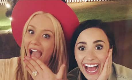 Iggy Azalea and Demi Lovato