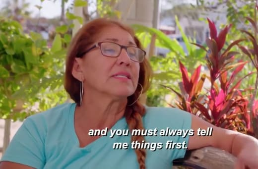 Armando Rubio mom - and you must always tell me things first