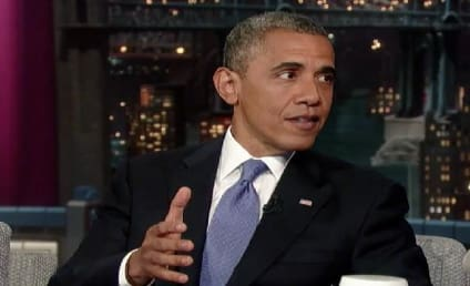 "President Obama Visits Late Show, Weighs in on Mitt Romney ""47 Percent"" Controversy"