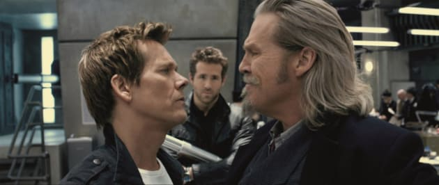 Kevin Bacon and Jeff Bridges in R.I.P.D.