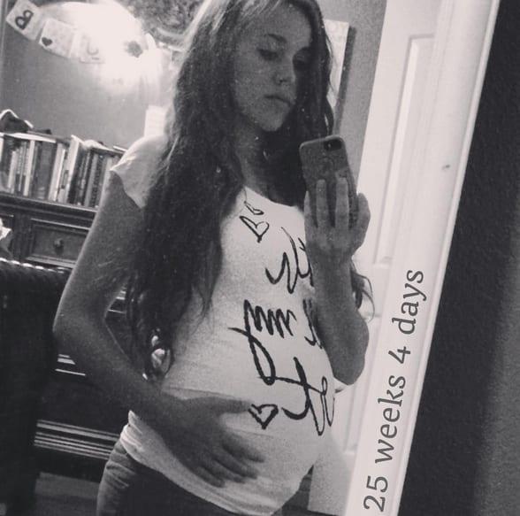 Jessa Duggar Baby Bump: 25 Weeks!