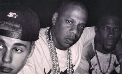 """Justin Bieber: Just """"Chilling"""" with Jay-Z and Kevin Hart"""