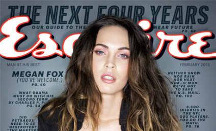 Megan Fox in Esquire: HOT, Anti-Lindsay Lohan, Pro-Church