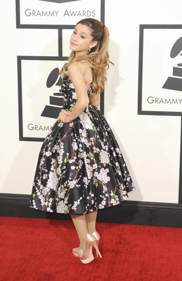 Ariana Grande at the Grammys