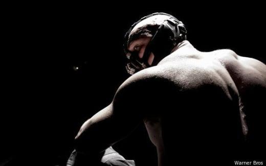 Tom Hardy as Bane
