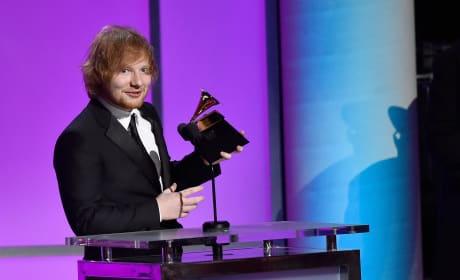 Ed Sheeran Wins!