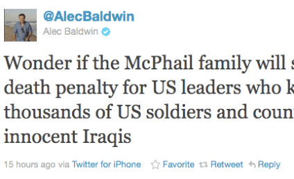 Alec Baldwin Decries Troy Davis Execution, Lays Into Michelle Malkin