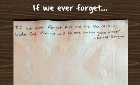 If We Ever Forget ...