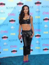 Naya Rivera at the Teen Choice Awards