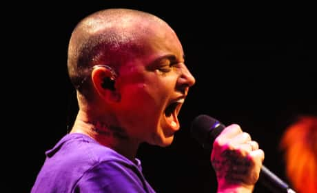 Sinead O'Connor in London