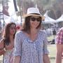 Minnie Driver at Coachella