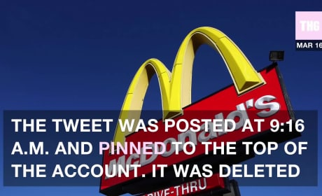 Donald Trump: Blasted by McDonald's?