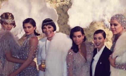 Kris Jenner and Kompany Go Gatsby for 60th Birthday