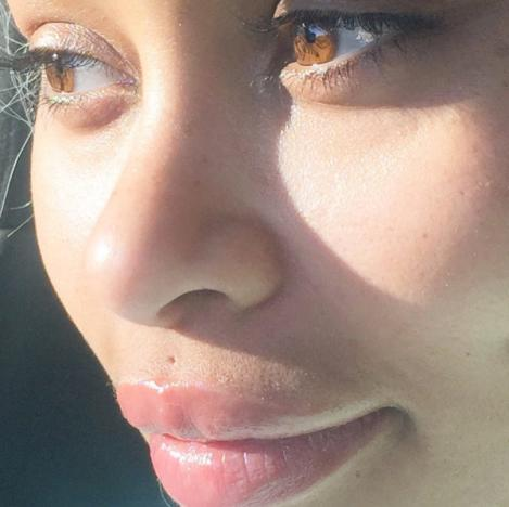 Blac Chyna extreme close up