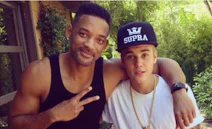 """Justin Bieber and """"Uncle"""" Will Smith: Most Liked Instagram Pic of the Year!"""