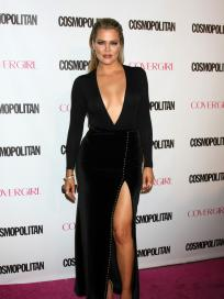 Khloe Kardashian: Cleavage on the Red Carpet