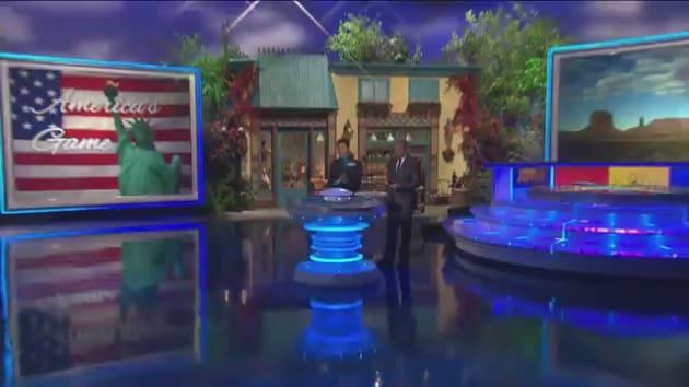 Celebrity name game tv show contestant