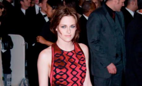 Kristen Stewart at the MET