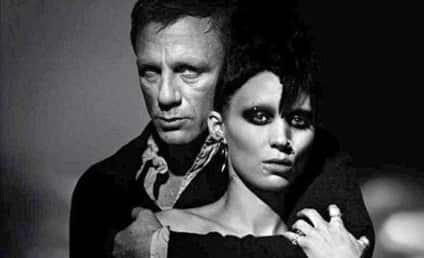The Girl with the Dragon Tattoo Poster: Lots of Skin!