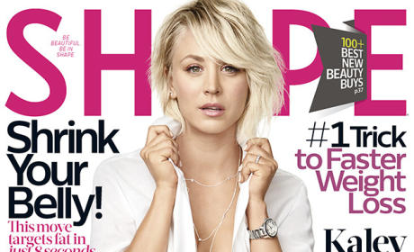Kaley Cuoco-Sweeting Sizzles in Shape, Shares Some Secrets